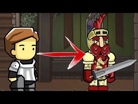 How to Turn an Altar Boy Into KNIGHTY KNIGHT in Scribblenauts Unlimited  