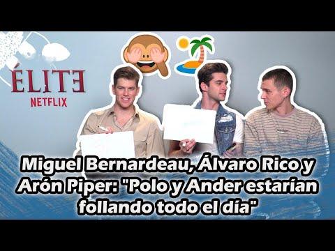 Miguel Bernardeau, Álvaro Rico Y Aron Piper: ¿Qué Harían Polo Y Ander En Una Isla Desierta? | ÉLITE