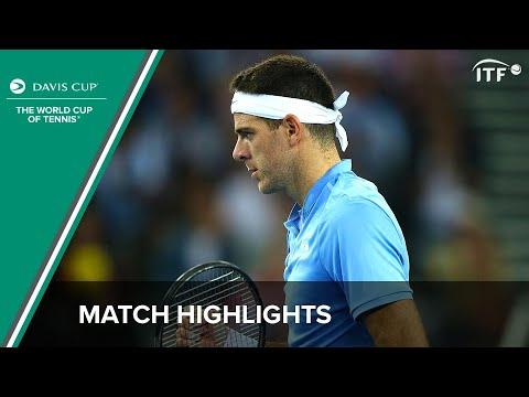Highlights: Andy Murray (GBR) v Juan Martin del Potro (ARG)