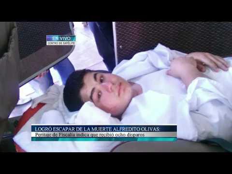 Logró escapar de la muerte Alfredito Olivas