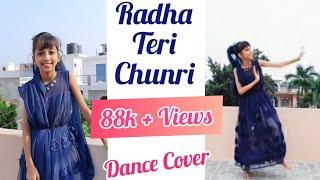 Radha Teri Chunri - Student of the Year easy dance choreography | Janmashtami Special | Pratishtha