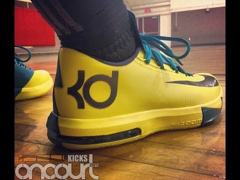 6bf13ad6f7530f Nike KD VI Performance Review - YouTube