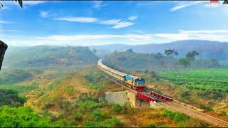 Train view From Up-Hill || Kanlni Express  || S-Curve || ??