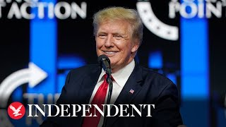 Trump encourages people to get Covid vaccine but 'believes in their freedoms' thumbnail