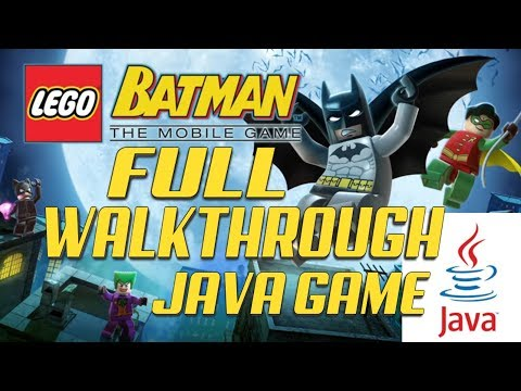 LEGO Batman: The Mobile Game (Gameloft 2011 Year) FULL WALKTHROUGH!