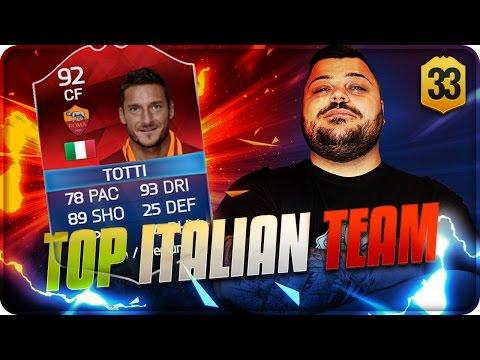 Road Top Italian Team : TOTTI iMOTM ! [FIFA 16]