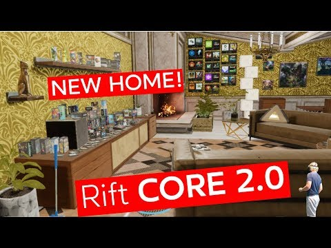 NEW HOME! Rift Core 2.0 - Introducing Dash and Visiting Friends! (Oculus VR)