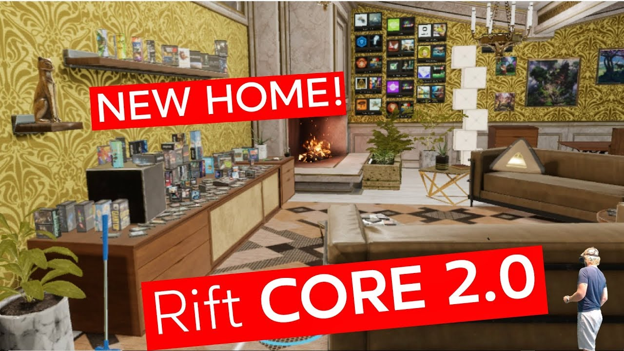 NEW HOME! Rift Core 2 0 - Introducing Dash and Visiting Friends! (Oculus VR)