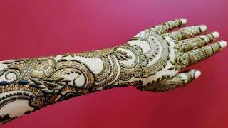 Dubai Henna Design 21 Heena Vahid