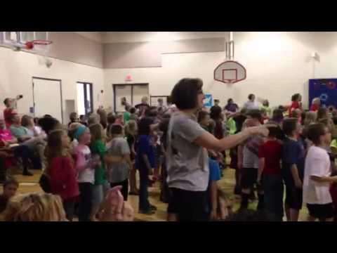 Winfield Scott Elementary Flashmob