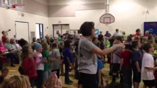 Winfield Scott Elementary Flashmob