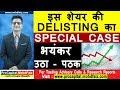 इस शेयर की DELISTING का SPECIAL CASE भयंकर उठा - पठक | Latest Share Market News In Hindi