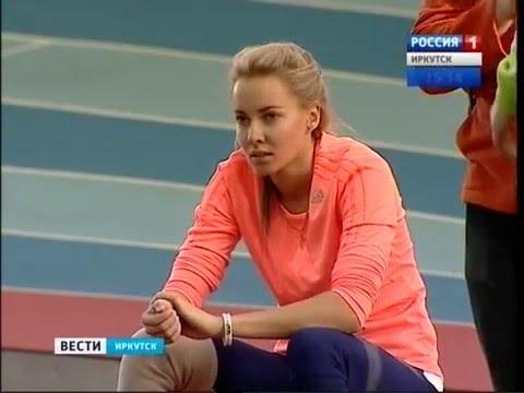 Иркутская прыгунья с шестом Алёна Лутковская надеется на помощь спонсоров для подготовки к олимпиаде