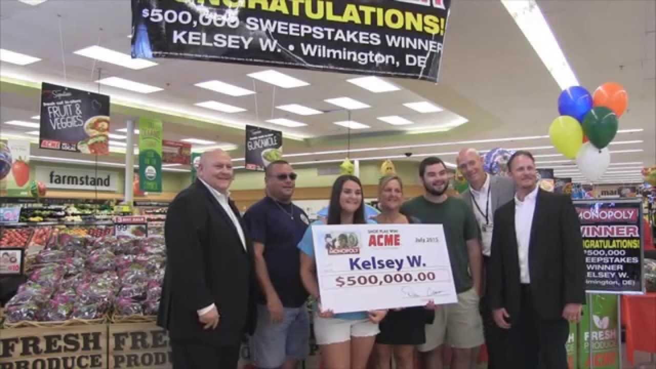Safeway Million Dollar Winner