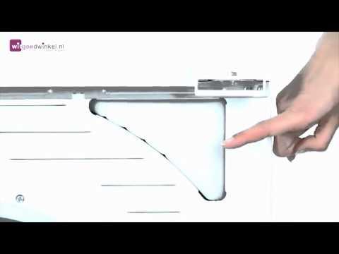 Beroemd Samsung Condensdroger aansluiten afvoerslang naar afvoerpijp - YouTube RS55