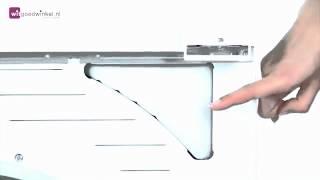 Samsung Condensdroger aansluiten afvoerslang naar afvoerpijp