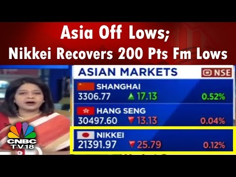 Market Cues | Asia Off Lows; Nikkei Recovers 200 Pts Fm Lows | CNBC TV18