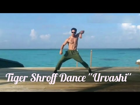 Tiger Shroff Dancing On Urvashi Song | Tiger Shroff New Dance