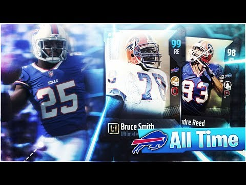 🐃ALL-TIME BUFFALO BILLS THEMED TEAM SQUAD BUILDER! Madden 18