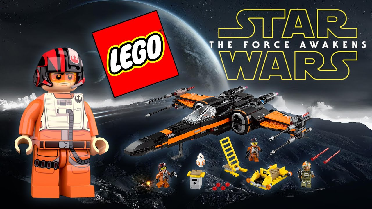 Lego Star Wars Poes X Wing Fighter Set 75102 Build Review Youtube Poeamp039s