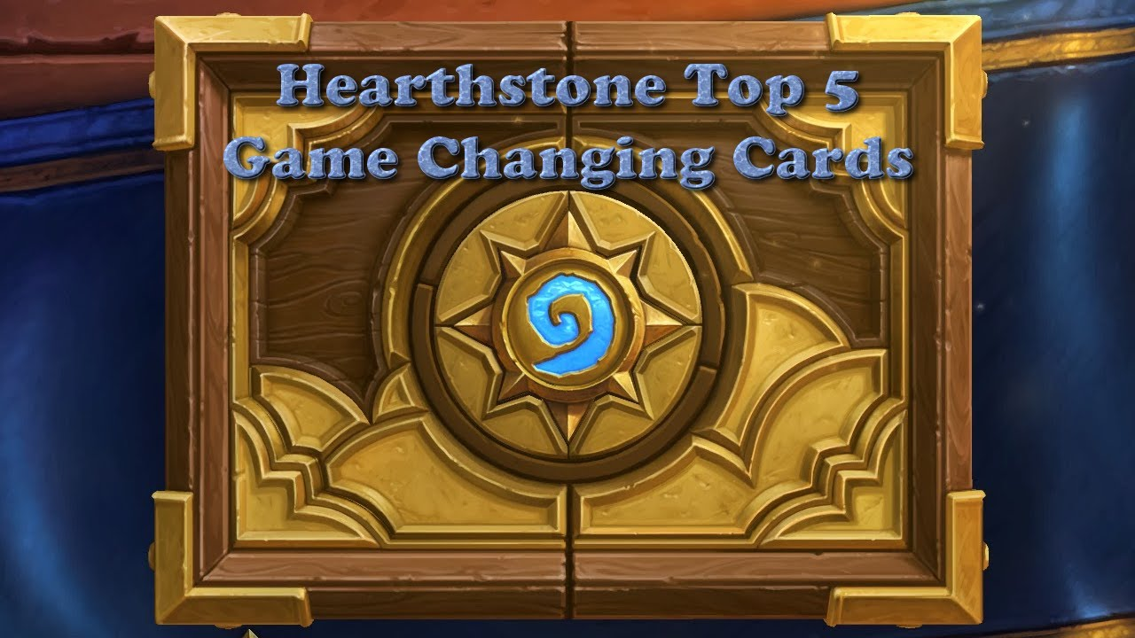 hearthstone top 5 neutral cards