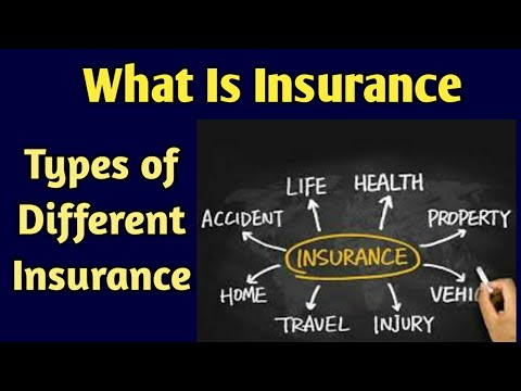 What is Insurance (Hindi) || Type Of Insurance|| Health Tips And Life Insurance