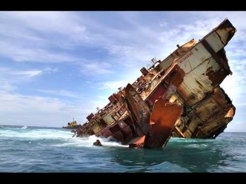 Cargo Ships Sinking - Container Ships Sinking - YouTube
