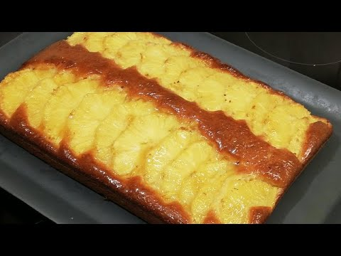 gateau-ananas-hyper-moelleux-#sauvonlespetitscommerçants