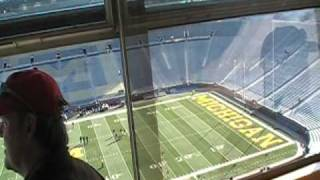 Michigan Stadium - Old Press Box