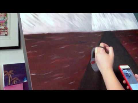 Xavier Wulf- Help Yo Self timelapse painting