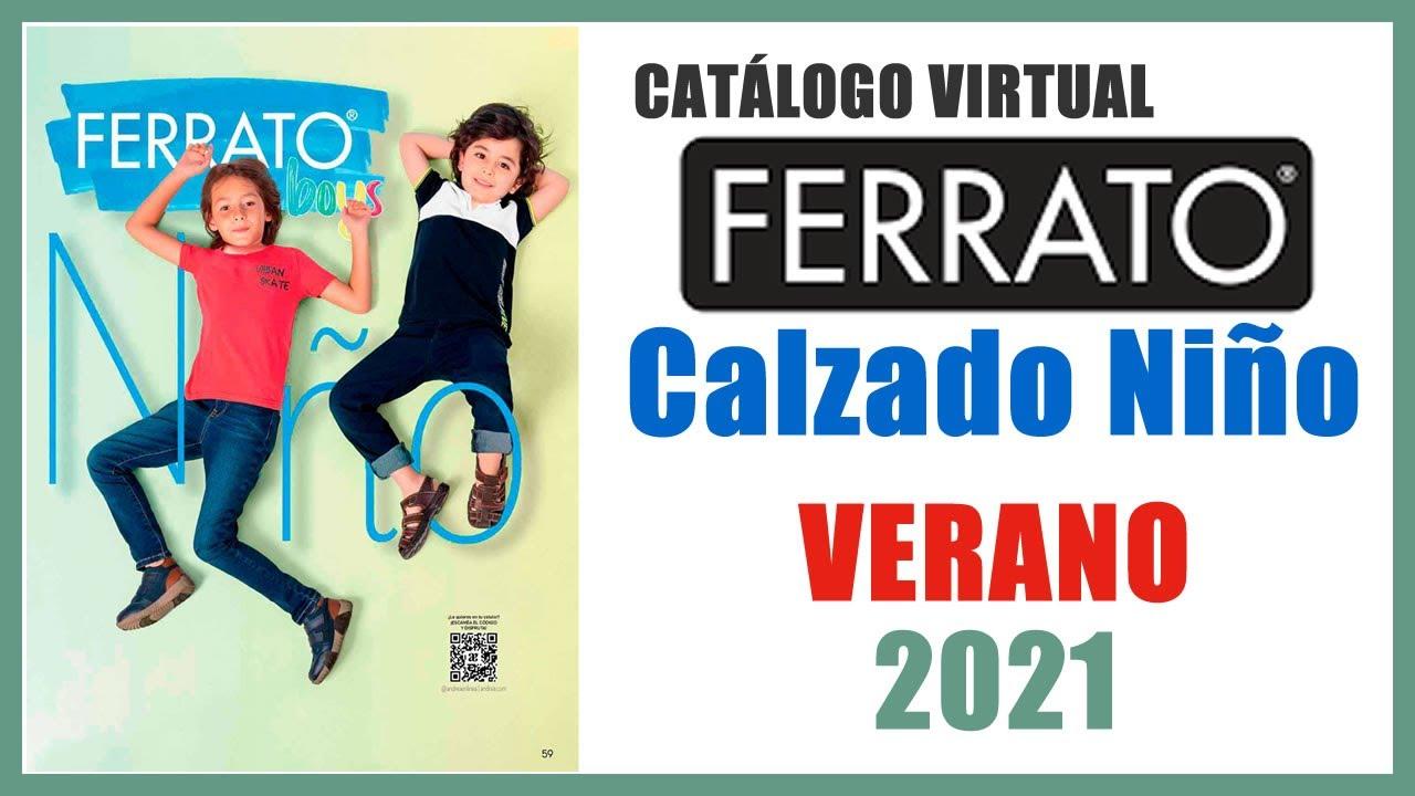 Catálogo Andrea Ferrato Boys Calzado Niño VERANO 2021