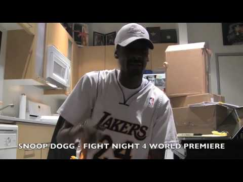 Snoop Talks Fight Night Round 4