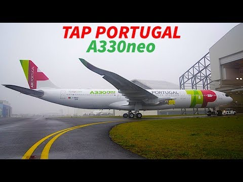 FIRST A330neo with TAP PORTUGAL Livery EMERGES