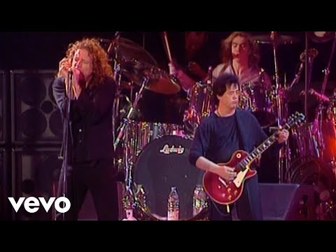 Jimmy Page, Robert Plant - When The World Was Young (Live)