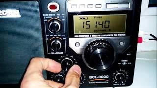 прием Русского Отдела All India Radio в Челябинске на 15140 кГц в конце мая 2017