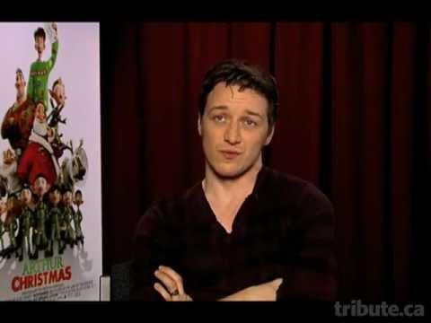 James McAvoy Interview - Arthur Christmas - YouTube