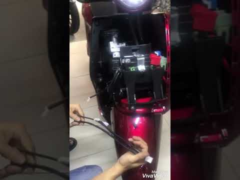 Hướng Dẫn Lắp Khoá Chống Trộm Xe Yamaha Janus
