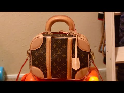 Louis Vuitton Mini Luggage + What fits inside🤩 | Kay Flight TV🌿