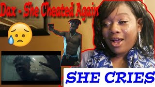 "😥EMOTIONAL😰 Mom reacts to Dax - ""She Cheated Again"" (Official Music Video)"