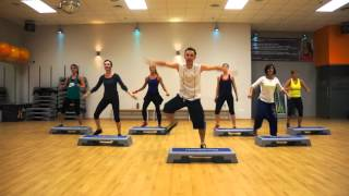 ZUMBA STEP from ZUMBA MEGA MIX 43 - Break Free ( WARM UP )