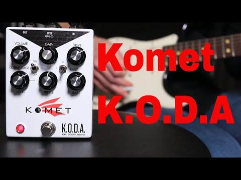 Komet KODA Overdrive Pedal demo video by Shawn Tubbs