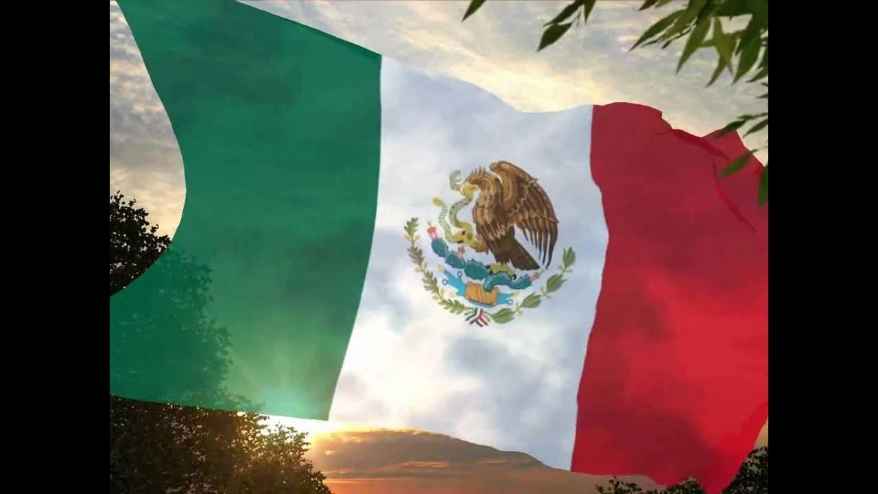 Bandera De M 233 Xico Ondeando Youtube