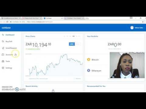 How to create a Bitcoin wallet on Coinbase.com