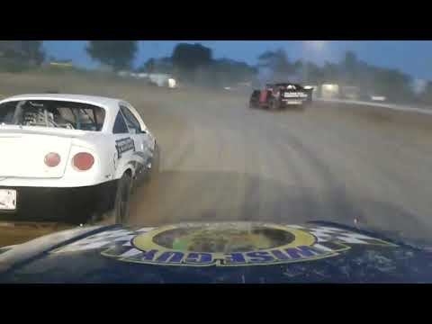 WISEGUY RACING Genesee speedway mini stock feature 6-8-18 on Bored