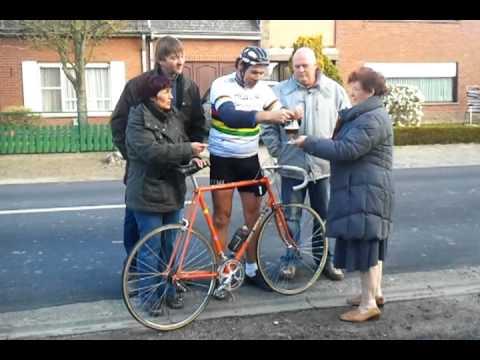 Frans 'Eddy Merckx' @ Wijnendale tijdens De Ronde!
