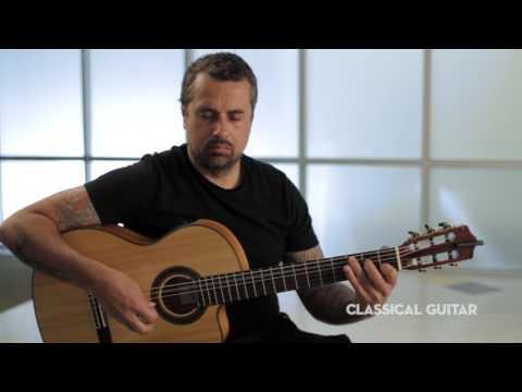 Flamenco/Metal Guitarist Ben Woods: Classical Guitar Session