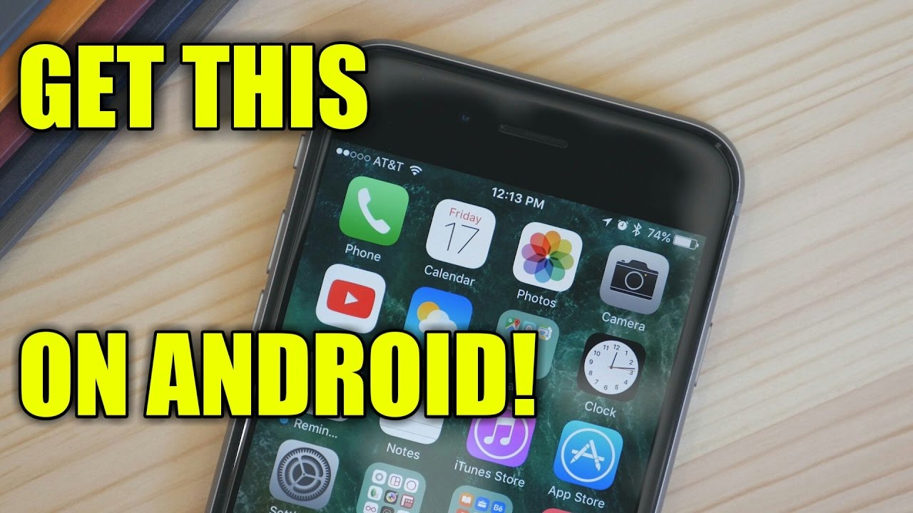 Make Android look like iOS 10! | Android Development and Hacking
