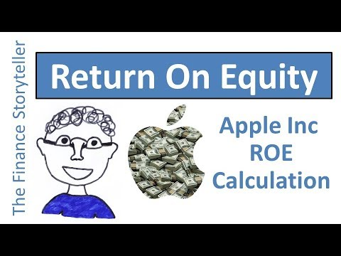 DuPont analysis ROE example Apple Inc