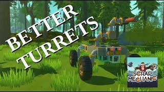 Scrap Mechanic: Better Turrets - Intelligentia Mod