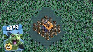 РАДИОАКТИВНЫЕ МИНЬОНЫ ВОКРУГ БАЗЫ!! ПОЛНЫЙ РАЗНОС!! Clash of Clans
